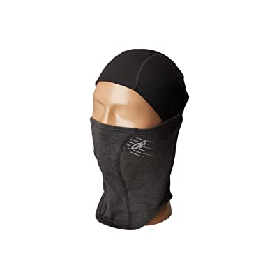 Outdoor Research Shift Up Balaclava (Black/Charcoal) Knit Hats