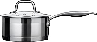 Duxtop Professional Stainless steel Cookware Induction Ready Impact-bonded Technology (1.6Qt Saucepan)