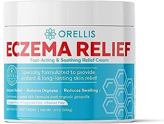 Orellis Cream For Body & Face. Powerful, All-Natural Formula For Eczema Relief. Free of Fragrances. Dermatitis & Eczema Ca...