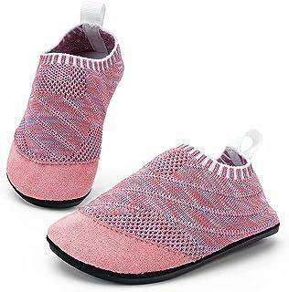 KOWAYI Chausson Enfant Pantoufle bebe :Garçons Filles Chaussons Enfants Chaussures Antidérapantes GR.17-35