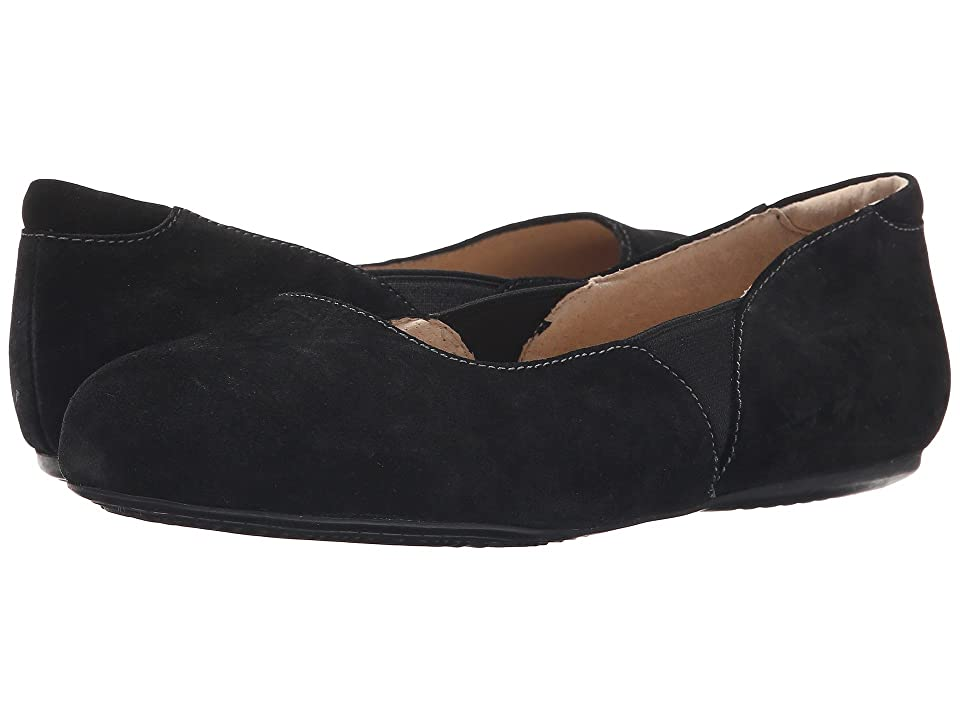 SoftWalk Norwich (Black Cow Suede Leather) Women