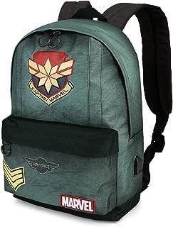 Capitana Marvel Duty-Mochila HS, Verde