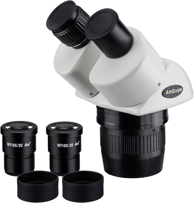 precios mas baratos AmScope SW13B 10X-30X S-per S-per S-per Widefield Est-reo Microscopio Binocular Head  alta calidad