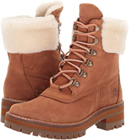 "Courmayeur Valley 6"" Boot with Authentic Shearling Lining"