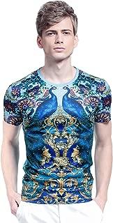 Mens T Shirts Casual Tee Shirts for Men Mens Retro T Shirts T Shirt Men Slim XS