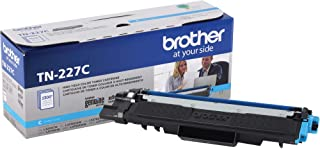 Brother Genuine TN227C, High Yield Toner Cartridge, Replacement Cyan Toner, Page Yield Up to 2,300 Pages, TN227, Amazon Da...