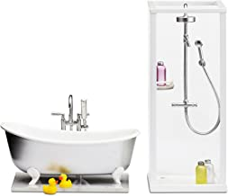 Lundby Smaland Shower Plus Bath Playset