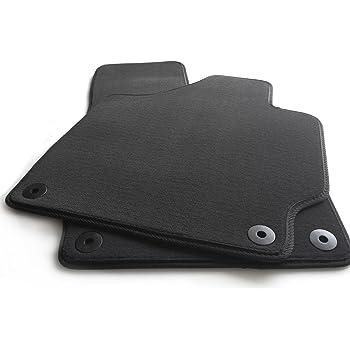 Noir Mossa Premium Tapis de Sol Velours Tapis Automobiles Set de 2 Tapis de Pieds 5902538834698