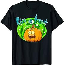 Rick or Treat - Halloween Pumpkin Rick Portal T-Shirt