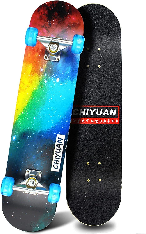 Easy_Way Complete Skateboards- Standard for Beginner 70% OFF Outlet Skateboards Clearance SALE Limited time
