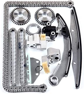 CCIYU Timing Part 13028-ZS00A Timing Chain Tensioner Guide Rail Crank Sprocket fits 2005-2015 Nissan Xterra Frontier 4.0L V6 DOHC Code VQ40DE