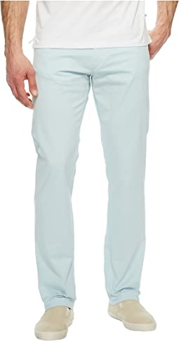 Calvin Klein - Slim Fit Four-Pocket Stretch Sateen Pants