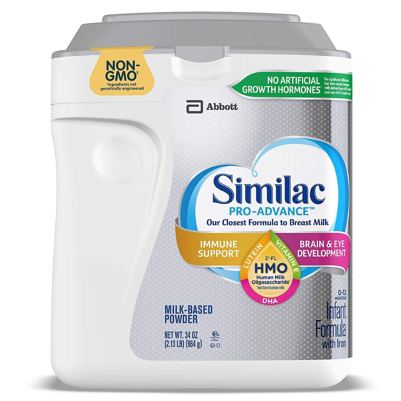 Similac Pro-Advance 2021 Non-GMO with Formula Infant 2-FL HMO Las Vegas Mall