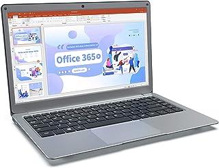 Jumper 13.3 Pollici Notebook con Microsoft Office 365,Portatile Windows 10, Laptop 4 GB DDR3 64 GB eMMC, Memoria Espandibi...