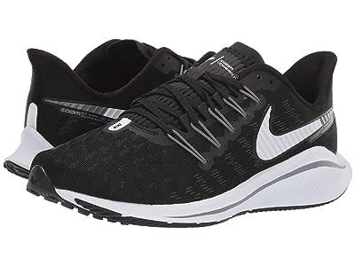 Nike Air Zoom Vomero 14 (Black/White/Thunder Grey) Women