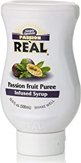 Real Passion Fruit Puree Infused Syrup, 500 ml