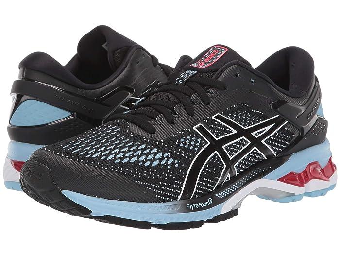 ASICS  GEL-Kayano 26 (Black/Heritage Blue) Womens Running Shoes