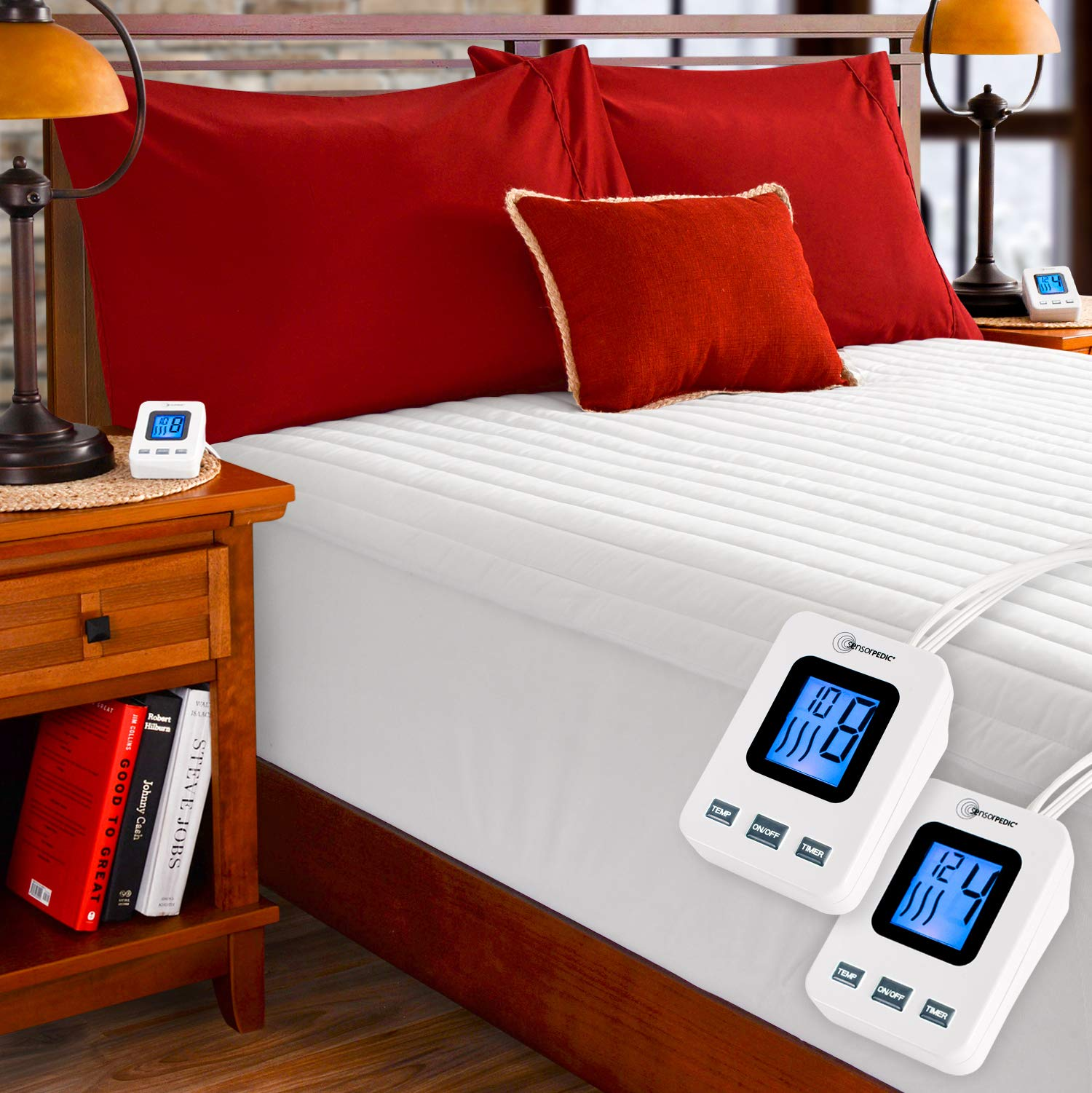 SimplyWarm Electric Mattress Sensor Safe Technology