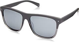 Polaroid 6041-S Gafas de Sol para Hombre, Grey, 56 mm