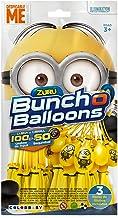 X-Shot - Bunch O Balloons Pack LOS MINIONS 3 manojos con 100+5 globos (ColorBaby 48011)