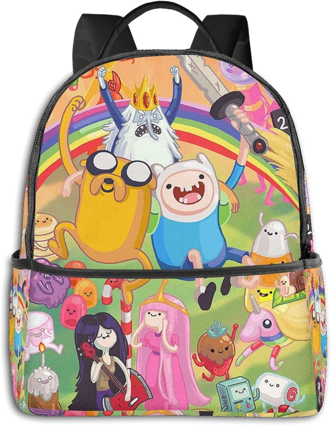 Adventure Time Financial sales sale 3d Print Backpack For Laptop Dayp Travel Selling rankings Bag Book