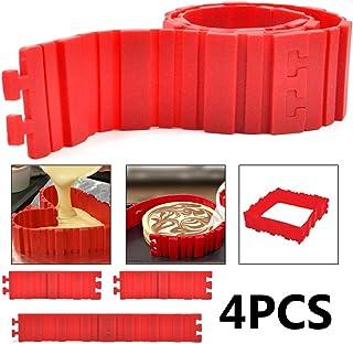 Molde Mágico de Silicona para torta Prokitchen, Antiadherente Flexible Reutilizable, Molde para hornear DIY