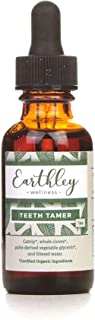 Earthley Wellness, Teeth Tamer, Natural Teething Relief, Soothes Drooling, Irritability and Pain Due to Teething or Tootha...
