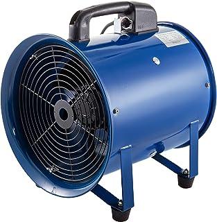 Mophorn Ventilador Industrial del Cilindro 200mm Ventilación y Soplador para Fábricas Sótanos Astilleros Granjas Ideal para fábricas Sótanos Astilleros Granjas Almacenamiento de Granos etc.