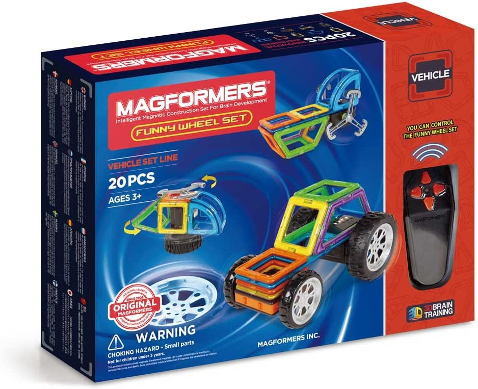 Magformers Funny Wheel 20 35% OFF Pieces Mag Educational Colors Rainbow Courier shipping free shipping