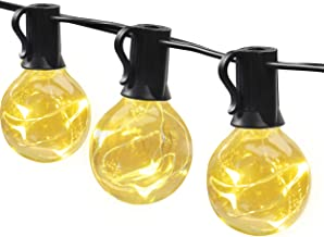 MYCARBON Led-lichtsnoer voor buiten, 13,5 m, 36 lampen, waterdicht, lichtketting voor binnen en buiten, met stekker, decor...