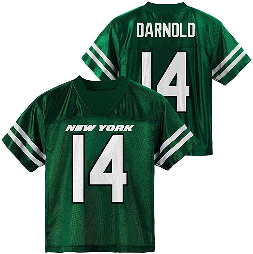 Outerstuff Sam Ranking integrated 1st place Darnold New York Jets 8-20 #14 Youth Home Ranking TOP12 Green P