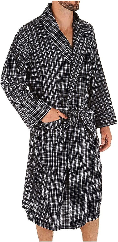 Hanes Big Men's Woven Shawl Collar Robe