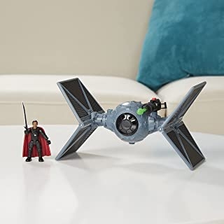 Star Wars Mission Fleet Stellar Class Moff Gideon Outland TIE Fighter Imperial Assault 2.5-Inch-Scale Figure and Vehicle, ...