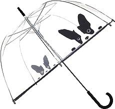 Paraguas para mujer, diseño de campana y dome Smati, transparente Chien