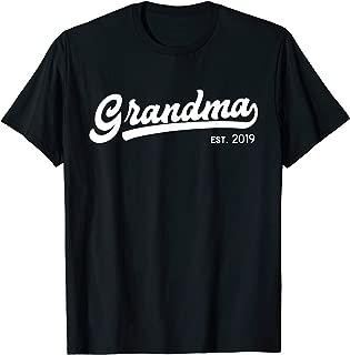 Grandma Est 2019 New Grandma Gift T-Shirt