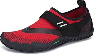 SAGUARO Unisexe Chaussures de Trail Running Antidérapant Légère Chaussures Minimalistes Confortable