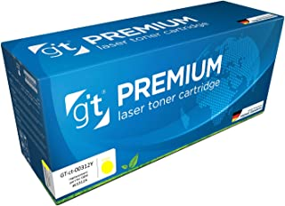 Gt Premium Toner Cartridge For Hp Clj Cp1025 / Pro 100mfp, Yellow- Ce312a / Hp 126a, (gt-ct-00312y)