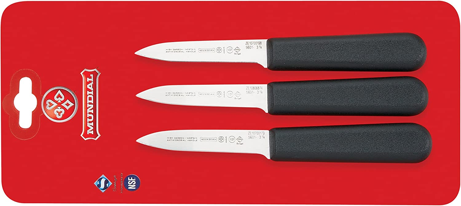 Mundial SC5601-3 1 4 3-1 Dallas Regular discount Mall 4-Inch Style Chef's Collec Knife Paring