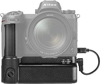 Neewer Kameragriff kompatibel mit Nikon Z6/Z7 Kamera, unterstützt vertikale Aufnahmen, funktioniert mit 1/2 wiederaufladbaren Li Ionen Batterien EN EL15 (Batterie Nicht im Lieferumfang enthalten)