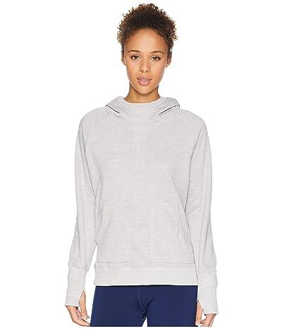 Mountain Hardwear Firetowertm Long Sleeve Hoodie (Grey Ice) Women