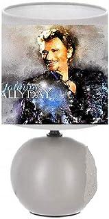 PRESENT Lampe de chevet JOHNNY HALLYDAY création artisanale N° 10.(produit Français)