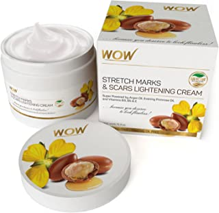 WOW Stretch Marks and Scar Lightening Oil Cream, 200ml