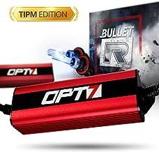 OPT7 Bullet-R 9007 Bi-Xenon HID Kit - TIPM Resistor Bundle - All Bulb Sizes and Colors [5000K Bright White Xenon Light]