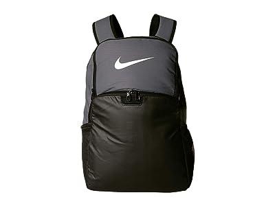 Nike Brasilia XL Backpack 9.0 (Flint Grey/Black/White) Backpack Bags