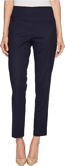 Vince Camuto - Doubleweave Side Zip Skinny Pants