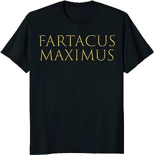 Funny Fartacus Maximus Farting Spartan Warrior t-shirt