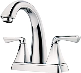 Pfister LF-048-SLCC-R Selia 2-Handle 4in Centerset Bathroom Faucet in Polished Chrome (Renewed)
