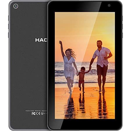 HAOVM 7 inch Android Tablet, Android 11.0 Oreo Go Tablet, Quad-Core 1.4GHz Processor, 32GB Storage, Dual Camera, 1024x 600 IPS HD Display,128GB Expand, 5.0 BT WiFi Tablet Non-Scratch Glass Back