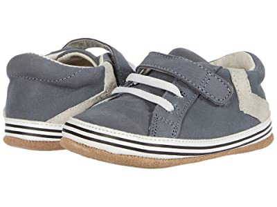 Robeez Adam Mini Shoez (Infant/Toddler) (Grey) Boys Shoes
