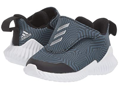 adidas Kids FortaRun AC (Toddler) (Black/Silver/Tech Ink) Boys Shoes